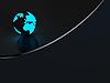 ID 3091699   Dunkler Hintergrund mit Erdkugel   Illustration mit hoher Auflösung   CLIPARTO