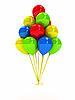 ID 3092005 | 明亮的空气气球 | 高分辨率插图 | CLIPARTO