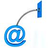 ID 3092084 | E-mail znak na wiosnę | Stockowa ilustracja wysokiej rozdzielczości | KLIPARTO