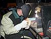 ID 3123562 | W czasie wykonywania pracy spawacza | Foto stockowe wysokiej rozdzielczości | KLIPARTO