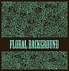 ID 3093320 | Floraler ornamentaler Hintergrund | Stock Vektorgrafik | CLIPARTO