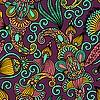 Artystyczny wzór kwiatowy bez szwu | Stock Vector Graphics