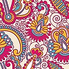 Bezszwowych kwiatów ozdobnych wzorów | Stock Vector Graphics