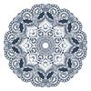 Kreis Ornament, ornamentale runden Spitzen