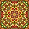 Originales nahtloses Retro-Paisley-Muster