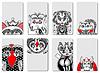 Doodle monster Persönlichkeit | Stock Vektrografik