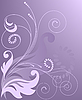 Lila Blumenhintergrund | Stock Vektrografik
