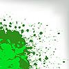 Зеленые пятна | Векторный клипарт