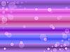 Blasen an den farbigen Streifen | Stock Vektrografik