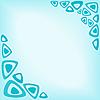 Абстрактный бирюзовый фон | Векторный клипарт