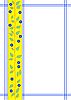 Рамка с цветочным орнаментом | Векторный клипарт