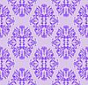 ID 3133582 | Lila nahtloses florales Muster | Stock Vektorgrafik | CLIPARTO