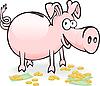 ID 3197815 | Schwein-Sparschwein | Stock Vektorgrafik | CLIPARTO