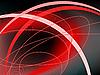abstrakter schwarz rotem Hintergrund