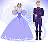 ID 3203588 | Książę i księżniczka | Stockowa ilustracja wysokiej rozdzielczości | KLIPARTO