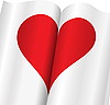 aufrichtigem Herzen in Notebook