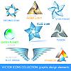 Icons, Logos und Designelemente
