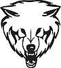 Kopf des Wolfs