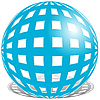 蓝色球 | 向量插图