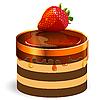 ID 3096135 | Kuchen mit Erdbeere | Stock Vektorgrafik | CLIPARTO
