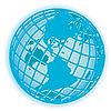 Земной шар | Векторный клипарт