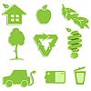 grüne Icons