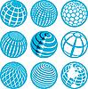 Ikony z kuli | Stock Vector Graphics