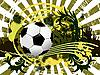 Vektor Cliparts: Fußball