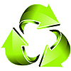 Vektor Cliparts: grüne Pfeile
