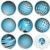 Vektor Cliparts: Symbole Globus
