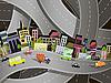 Vektor Cliparts: Stadt-Verkehr