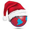 Vektor Cliparts: Weihnachten Globe