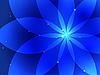 Vektor Cliparts: Abstrakter blauer Hintergrund