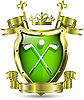 ID 3201428 | Emblem des Golf-Clubs | Stock Vektorgrafik | CLIPARTO