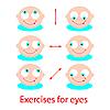 Übungen für Augen