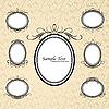 vintage oval frames