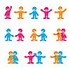 ID 3102204 | Zeichen mit Menschen | Stock Vektorgrafik | CLIPARTO