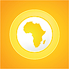 非洲太阳 | 向量插图