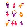ID 3103406 | Liebes-Icons | Stock Vektorgrafik | CLIPARTO
