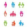 ID 3103433 | 부모와 자녀 | 벡터 클립 아트 | CLIPARTO