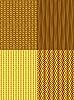 Vier Hintergründe-Muster | Stock Vektrografik