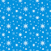 Nahtloser Hintergrund mit Schneeflocken