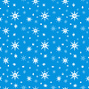 Nahtloser Hintergrund mit Schneeflocken | Stock Vektrografik