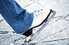 ID 3109302 | Schlittschuh auf dem Eis | Foto mit hoher Auflösung | CLIPARTO