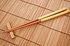 ID 3110686 | 棕色竹垫筷子 | 高分辨率照片 | CLIPARTO