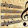 Grunge fondo musical | Ilustración