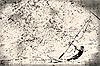 Windsurfista en el papel viejo, fondo grunge | Ilustración