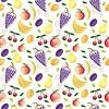 Frutas - seamless pattern y la naturaleza abstracta | Foto de stock