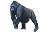 ID 3329818 | Großer schwarzer haariger Gorilla | Foto mit hoher Auflösung | CLIPARTO