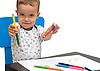 ID 3111142 | Kleine Jungen und Bleistifte | Foto mit hoher Auflösung | CLIPARTO
